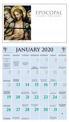 Episcopal Calendar 2020 2020 Episcopal Calendar   Ashby Publishing