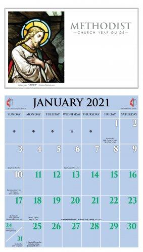 2021 Methodist Calendar   Ashby Publishing