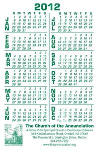 Special Calendars